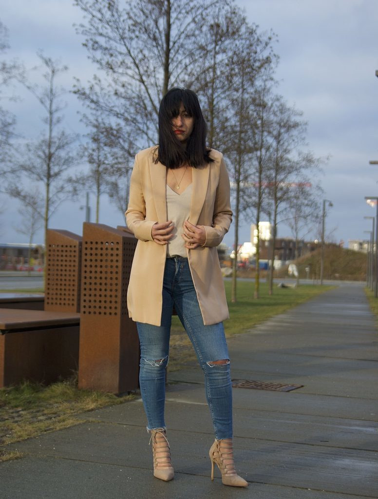 OOTD, Longline tailored blazer