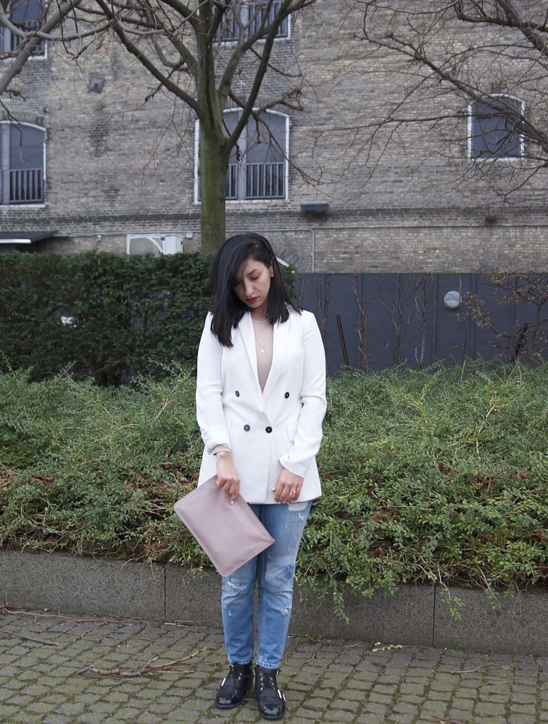 ways to wear a white blazer