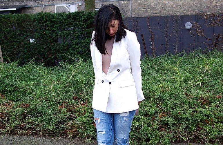 OOTD: Ways to wear a white blazer