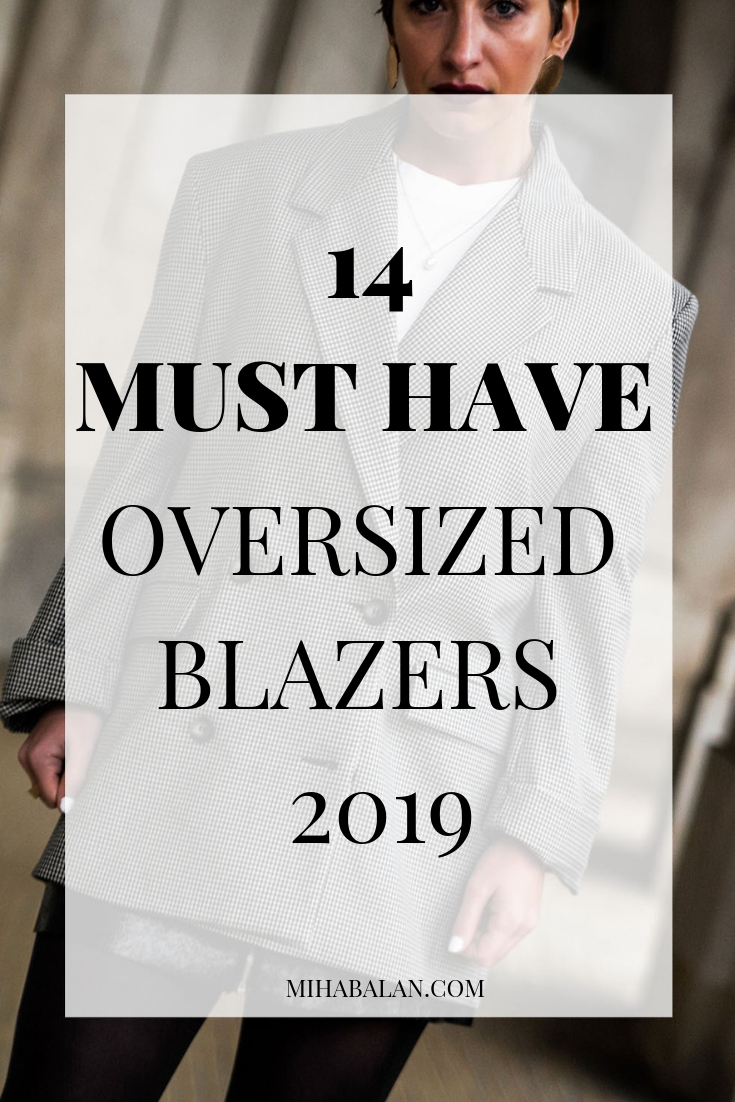 14 MUST HAVE oversized blazers for spring and summer, work wear outfit ideas, blazers for casual outfits, spring outfits