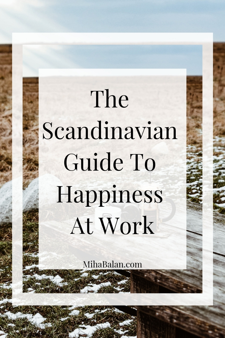 The Scandinavian Guide to Happiness at Work, Improve your work life balance with these Scandinavian habits, casual outfit, sweater