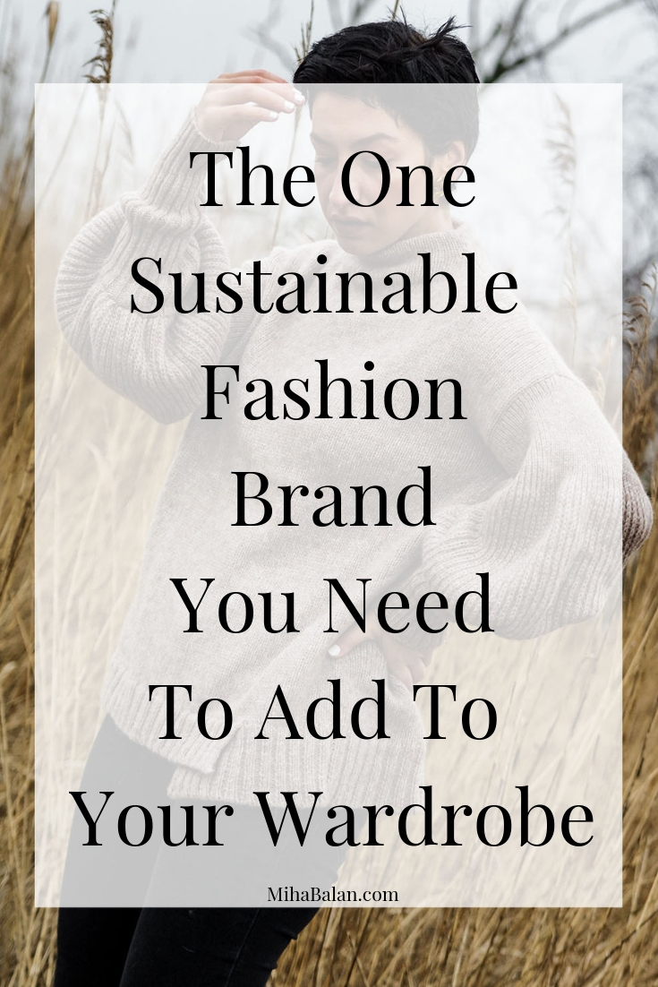 The Sustainable Fashion Brand You Need To Add To Your Wardrobe, Scandinavian style, sweaters, handmade sweaters