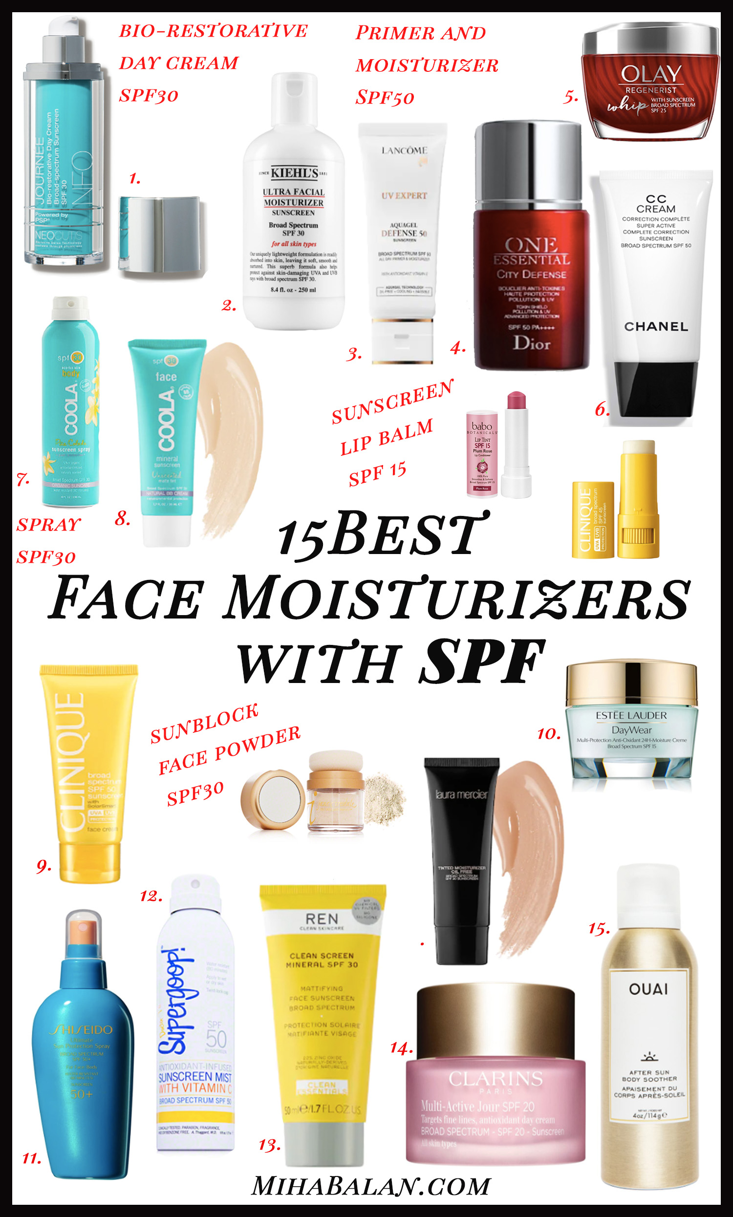 15 best SPF face moisturizers for women in their 30s, face care, face cream, skincare, wellness, sun protection2